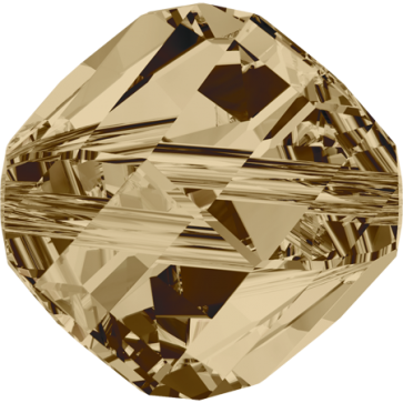 Margele Swarovski 5020 Crystal Golden Shadow (001 GSHA) 10 mm