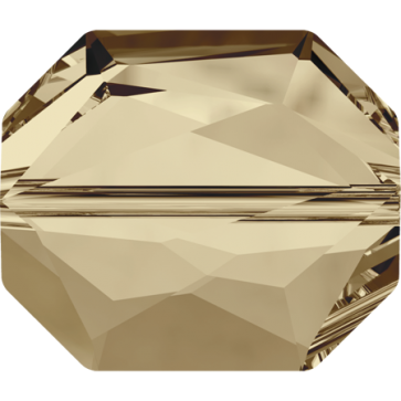 Margele Swarovski 5520 Crystal Golden Shadow (001 GSHA) 12 mm