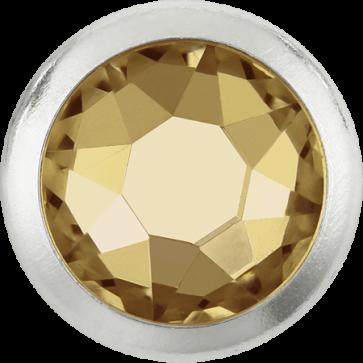 Cristale Swarovski cu spate plat si lipire la cald 2078/H Crystal Golden Shadow A HF GM (001 GSHA) SS 16