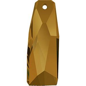 Pandantiv Swarovski 6019/G CRYSTALACTITE PEND.PETITE Crystal Copper V (001 COPPV) 35 mm