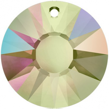 Pandantiv Swarovski 6724 SUN PENDANT Crystal Paradise Shine V (001 PARSV) 33 mm