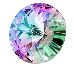 Cristale Swarovski Round Stones 1122 Crystal Vitrail Light F (001 VL) SS39