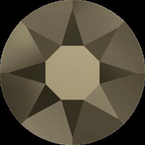 Cristale Swarovski cu spate plat No Hotfix 2000 Crystal Metallic Light Gold F (001 MLGLD) SS 3