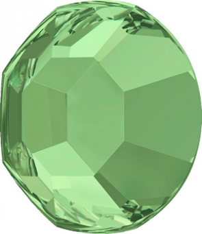 Cristale Swarovski cu spate plat No Hotfix 2000 Verde Peridot SS 5 - de lipit