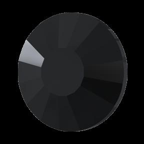 Cristale Swarovski cu spate plat si lipire la rece 2034 Jet (280) SS 48 - NoHotfix