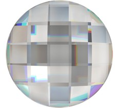 Cristale Swarovski cu spate plat No Hotfix 2035 Crystal CAL V SI (001 CAVSI) 20 mm