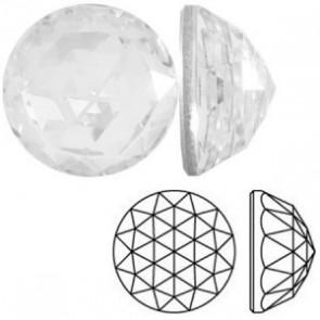 Cristale Swarovski cu spate plat No Hotfix 2072 Crystal F 8 mm -  de lipit