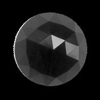 Cristale Swarovski cu spate plat No Hotfix 2072 Jet (280) 8 mm -  de lipit