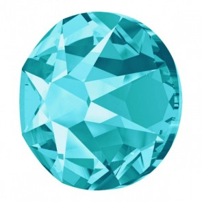 Cristale Swarovski cu spate plat si lipire la cald 2078 Light Turquoise A HF (263) SS 34 - Xirius Rose
