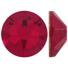 Cristale Swarovski cu spate plat No Hotfix 2088 Siam F (208) SS 34