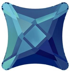 Cristale Swarovski cu spate plat No Hotfix 2494 Crystal Bermuda Blue F (001 BB) 8 mm