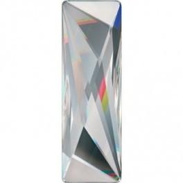 Cristale Swarovski cu spate plat No Hotfix 2570 Crystal CAL SI (001 CASI) 50 x 16 mm