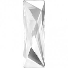 Cristale Swarovski cu spate plat No Hotfix 2570 Crystal CAL V SI (001 CAVSI) 50 x 16 mm