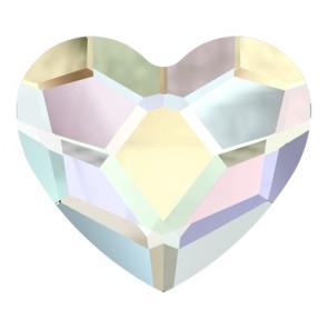 Cristale Swarovski cu spate plat si lipire la cald 2808 Crystal AB M HF (001 AB) 10 mm