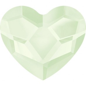 Cristale Swarovski cu spate plat No Hotfix 2808 Crystal Powder Green (001 PGRE) 10 mm