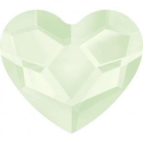 Cristale Swarovski cu spate plat si lipire la cald 2808 Crystal Powder Green HFT (001 L102) 10 mm