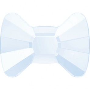 Cristale Swarovski cu spate plat No Hotfix 2858 Crystal Powder Blue (001 PBLU) 9 x 6,5 mm