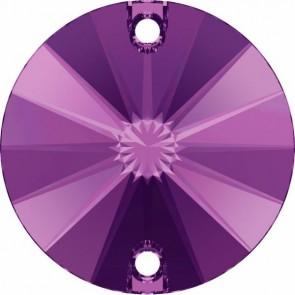 Cristale Swarovski De Cusut 3200/G Amethyst F PFRO01 (204) 10 mm