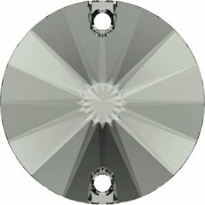 Cristale Swarovski De Cusut 3200/G Black Diamond F PFRO01 (215) 10 mm
