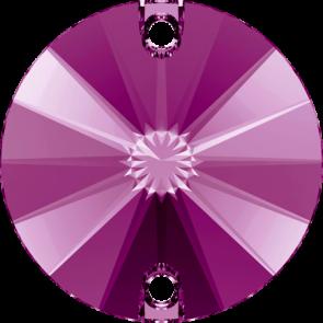Cristale Swarovski De Cusut 3200/G Fuchsia F PFRO01 (502) 10 mm