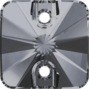 Cristale Swarovski De Cusut 3201 Crystal Silver Night (001 SINI) 12 mm
