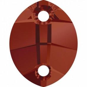 Cristale Swarovski De Cusut 3224 Crystal Red Magma (001 REDM) 14 x 11 mm
