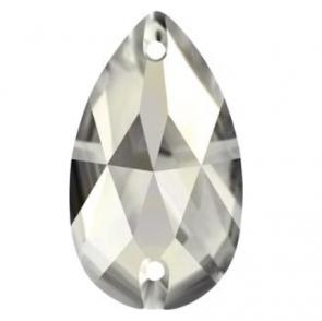 Cristale Swarovski De Cusut 3230 Crystal Satin F (001 SATIN) 12 x 7 mm