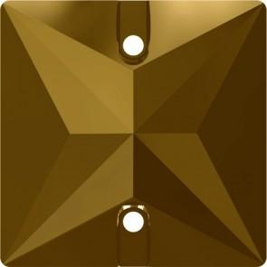 Cristale Swarovski De Cusut 3240 Crystal Dorado F (001 DOR) 16 mm