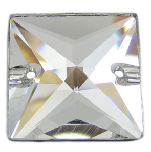 Cristale Swarovski De Cusut 3240 Crystal Silve Shade (001) 22 mm