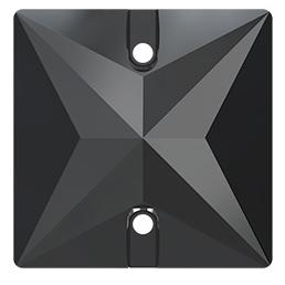 Cristale Swarovski De Cusut 3240 Jet Hematite (280 HEM) 22 mm