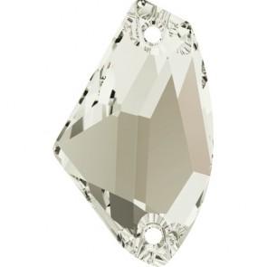 Cristale Swarovski De Cusut 3256 Crystal Silver Shade F (001 SSHA) 14 x 8,5 mm