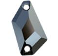 Cristale Swarovski De Cusut 3267 Jet Hematite (280 HEM) 18 x 10 mm