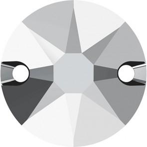 Cristale Swarovski De Cusut 3288 Crystal Light Chrome F (001 LTCH) 8 mm