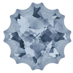 SWAROVSKI 4195 MM 22,0 CRYSTAL BLUE SHADE F Jelly Fish