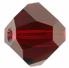 Margele Swarovski 5603 Rosu Siam 8 mm - Graphic Cube