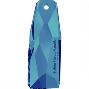 Pandantiv Swarovski 6018/G THE PETITE CRYSTALACTITE Crystal Bermuda Blue P (001 BB) 35 mm
