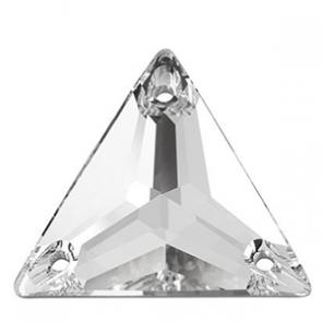 Cristale Swarovski De Cusut 3270 Crystal F (001) 16 mm - Triunghi