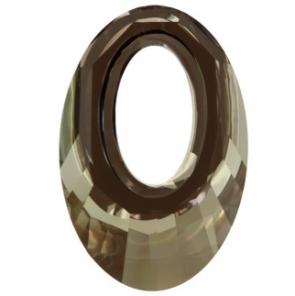 Pandantiv Swarovski 6040 HELIOS PENDANT Crystal Iridescent Green (001 IRIG) 40 mm - Helios