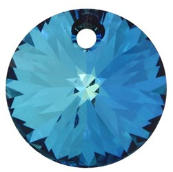 Pandantiv Swarovski 6428 XILION PENDANT Crystal Bermuda Blue 8 mm