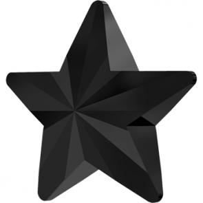 Cristale Swarovski 4745 Rivoli Star Fancy Stone Jet 5 mm