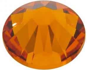 Cristale Swarovski cu spate plat No Hotfix 2058 Tangerine F (259) SS 12