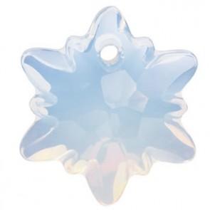Pandantiv Swarovski 6748 EDELWEISS PENDANT White Opal (234) 18 mm