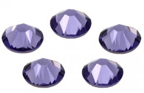 Cristale Swarovski cu spate plat No Hotfix 2058 Tanzanite (539) SS 7 - de lipit