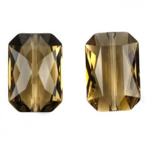 Margele Swarovski 5515 Smoky Quartz (225) 14 x 9,5mm