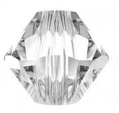 Margele Swarovski 5328 Crystal (001) 6 mm - XILION BEAD