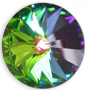 Cristale Swarovski Round Stones 1122 Crystal Vitrail Medium F (001 VM) 12 mm