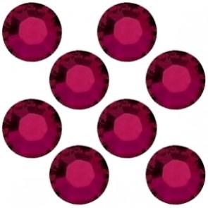 Cristale Swarovski cu spate plat No Hotfix 2028 Ruby (501) SS 8