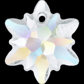 Pandantiv Swarovski 6748/G EDELWEISS PENDANT PF Crystal AB (001 AB) 14 mm