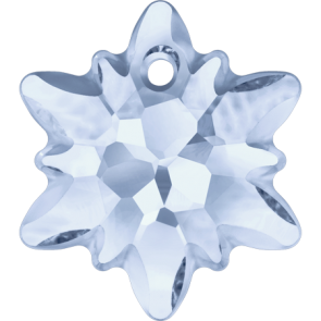 Pandantiv Swarovski 6748/G EDELWEISS PENDANT PF Crystal Blue Shade (001 BLSH) 14 mm