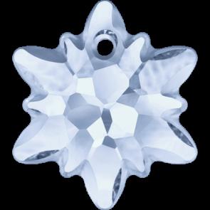 Pandantiv Swarovski 6748/G EDELWEISS PENDANT PF Crystal Blue Shade (001 BLSH) 28 mm